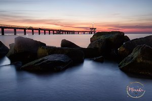 Before sunrise in Burgas bay