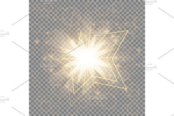 The Golden Christmas Star