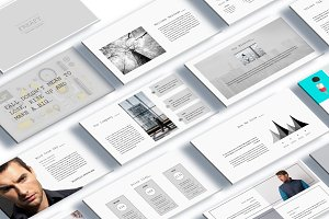 Freafy Creative Keynote Template