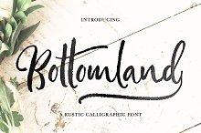 Bottomland • Ink Script