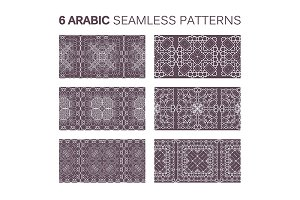 6 Modern line arabic pattern