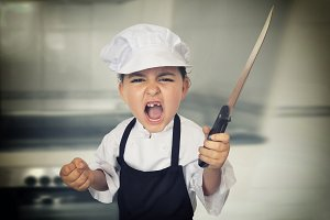 Little chef girl