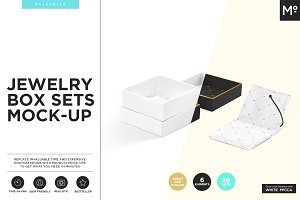 Jewelry Box Sets Mock-up