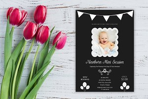 Newborn Mini Sessions Template