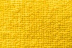yellow towel fabric texture