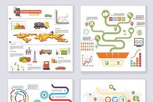 Infographics Elements Symbols