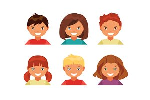 Children avatars