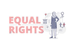 Equal rights web banner