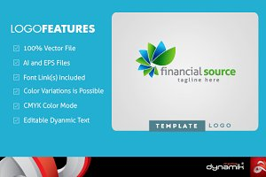 Financial Source - Logo Template