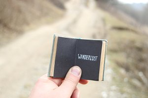 wanderlust concept, travel motivation