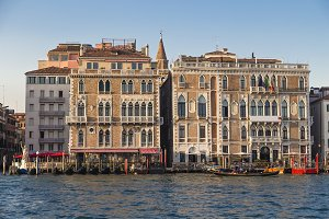 Historic houses on the Grand Canal