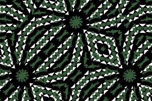 Bold Ethnic Complex Geometric Seamless Pattern