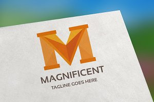 Magnificent (Letter M) Logo