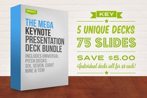 Mega Keynote Pres Deck Bundle