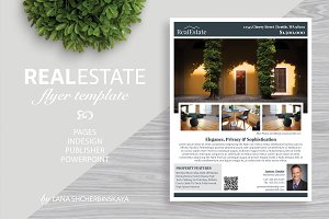 Real Estate Flyer Template No.1