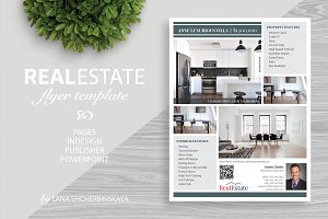 Real Estate Flyer Template No.2