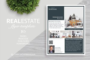 Real Estate Flyer Template No.4