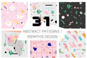 80's style graphics | Memphis design