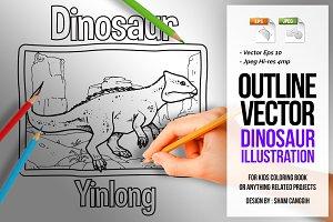 Dinosaur Art Line - Yinlong
