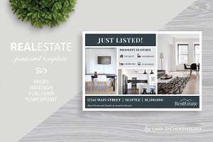 Real Estate Postcard Template No.1