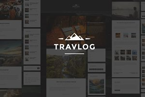 Travlog - A Traveler Blogging Theme