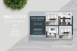Real Estate Postcard Template No.2