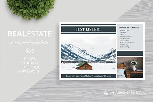 Real Estate Postcard Template No.4