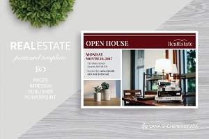 Real Estate Postcard Template No.5