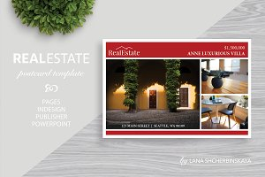 Real Estate Postcard Template No.6
