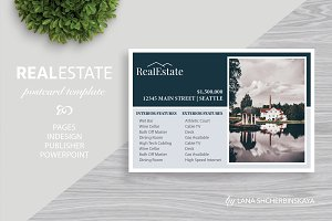 Real Estate Postcard Template No.8,9
