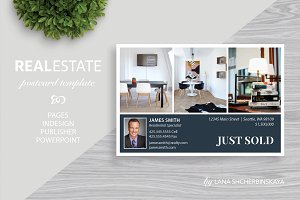 Real Estate Postcard Template No.10