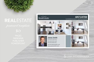 Real Estate Postcard Template No.11