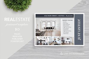Real Estate Postcard Template No.12