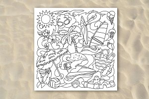 Besch Coloring Page