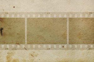 Film Frames Grungy Background