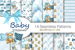 Baby Boy Seamless Paper Pack