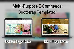 Fashion & Shoes E-Commerce Bootstrap