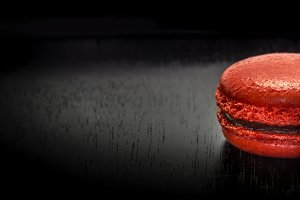 Sweet french macaroon