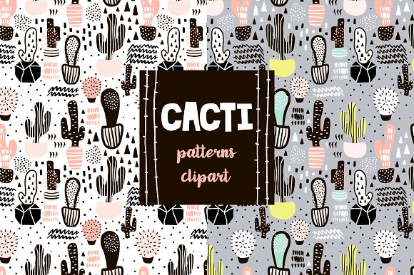CREATIVE CACTUS BACKGROUNDS