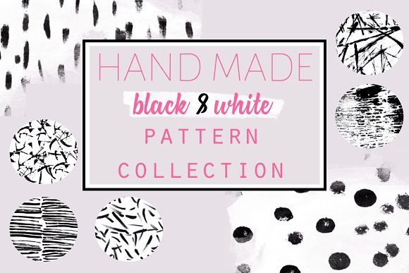 Black Ink Pattern Collection