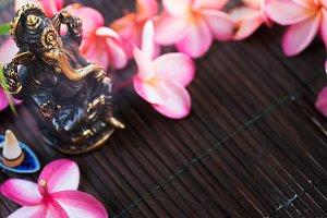 Statue of Ganesha Indian Hinduism God