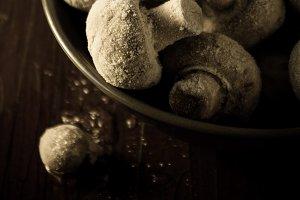Frozen champignons