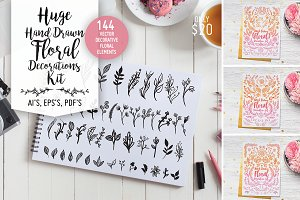 Huge Floral Decorations Kit