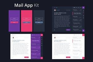 Mail App Kit for Tablet