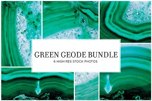 Green Geode Stock Bundle