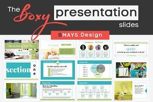 Boxy Keynote Presentation Slides