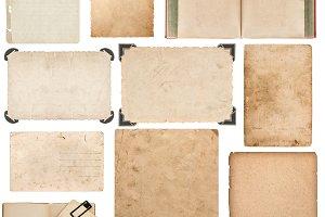 Book, paper sheet, cardboard