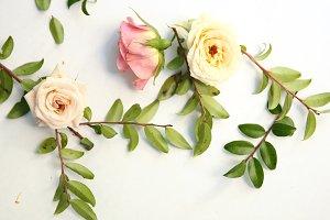 instagram flower mockup