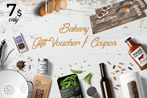 Bakery Gift Voucher/Coupon