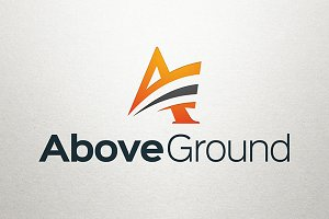 Above Ground – Letter A Logo
